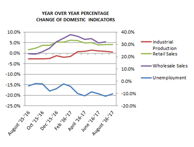 YoY Domestic Indicators